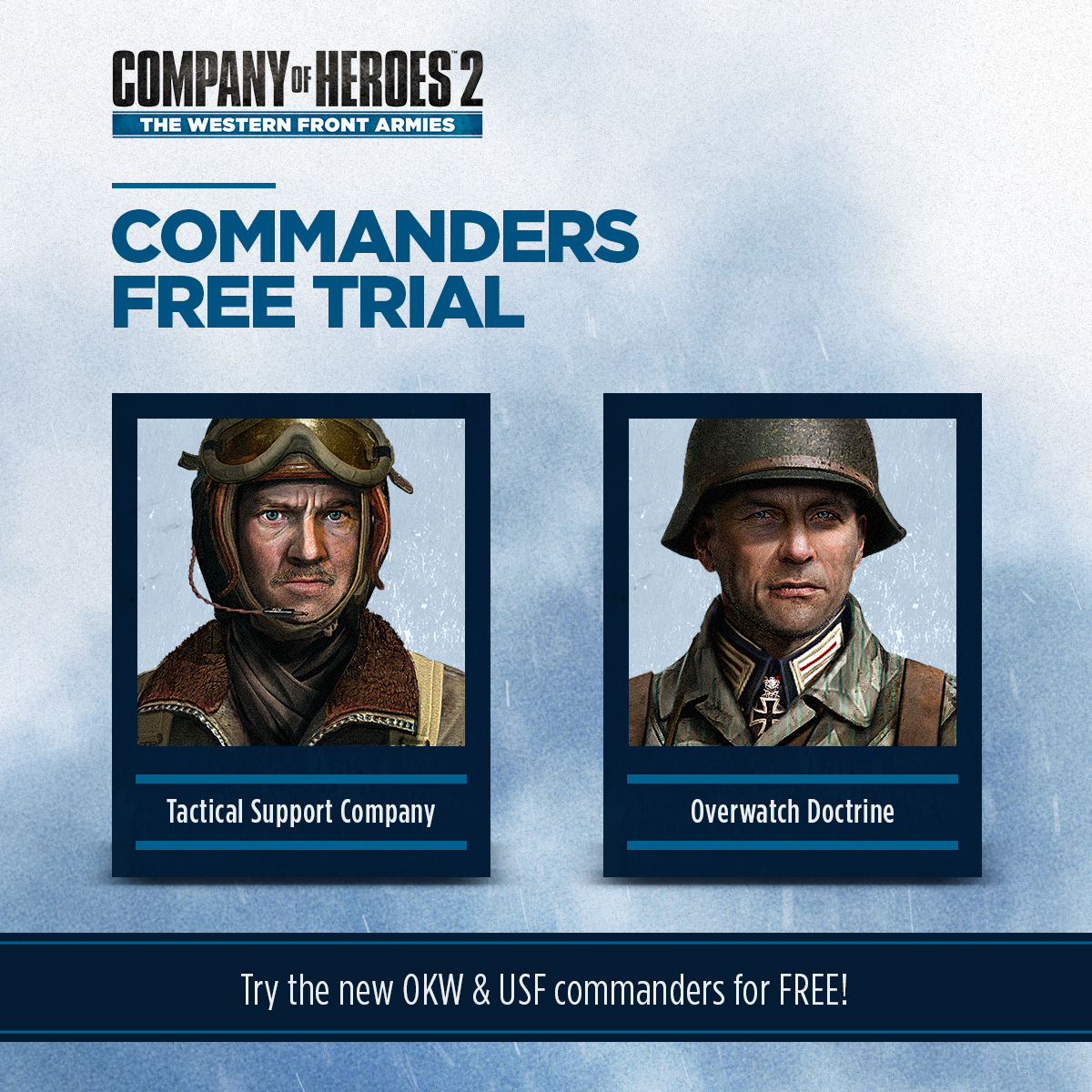 company of heroes 2 free commanders
